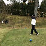 第6回「鹿南高野球部OB会ゴルフコンペ」の様子